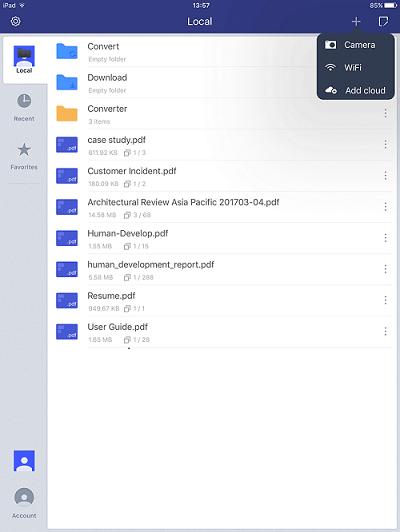 annotate pdf ipad