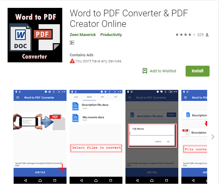 Top 5 Apps to Convert Word to PDF on Android Phones and Tablets