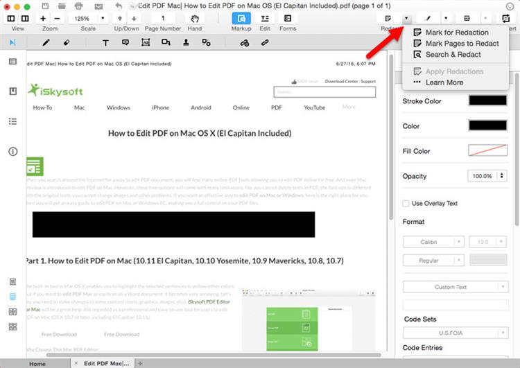 How to Redact PDF Documents