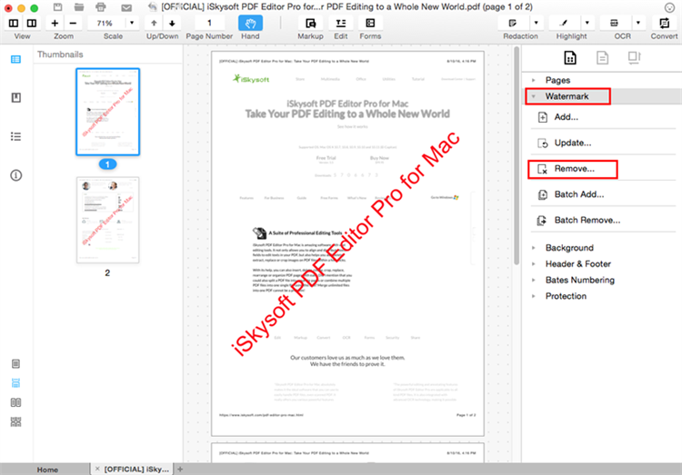 how do you sign a pdf document on a mac