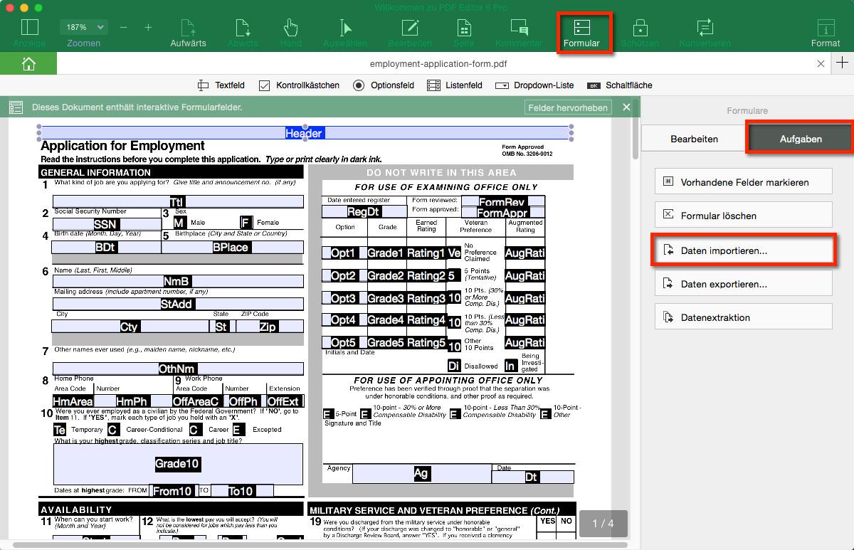 So Konvertieren Sie Excel In PDF Formular