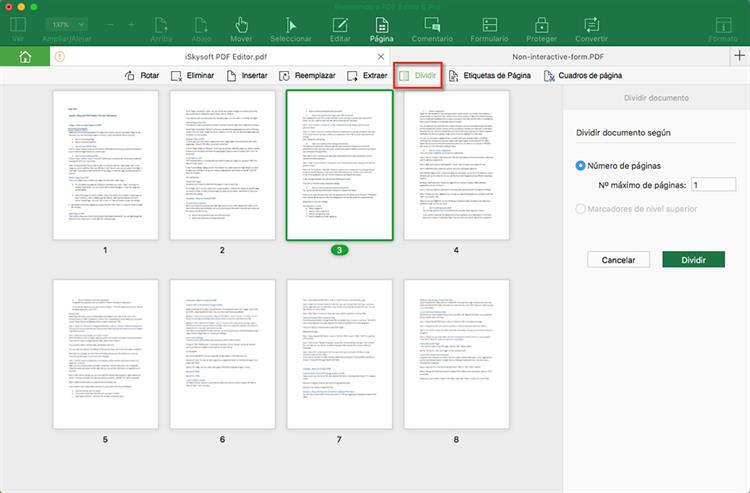 how to cut pdf pages mac
