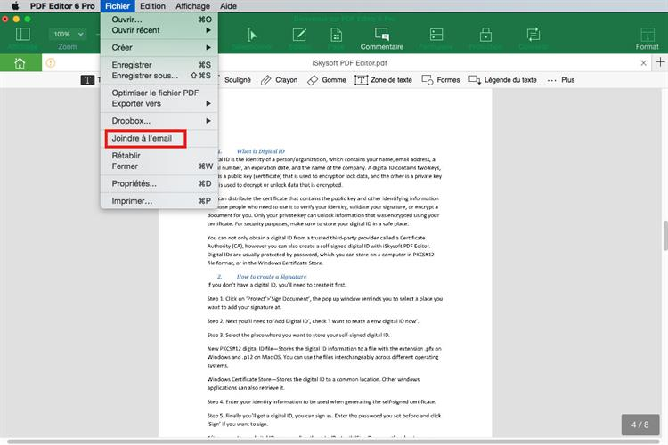 comment envoyer un fichier pdf par courrier  u00e9lectronique sur mac  y compris les grands fichiers pdf