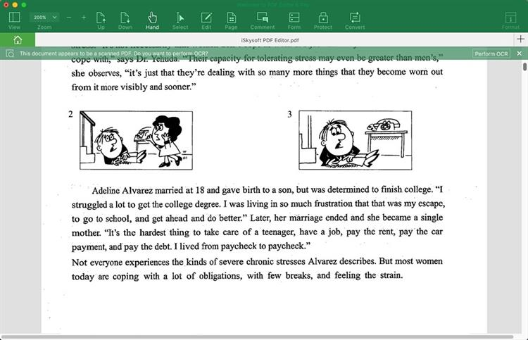 search for words in scanned pdf