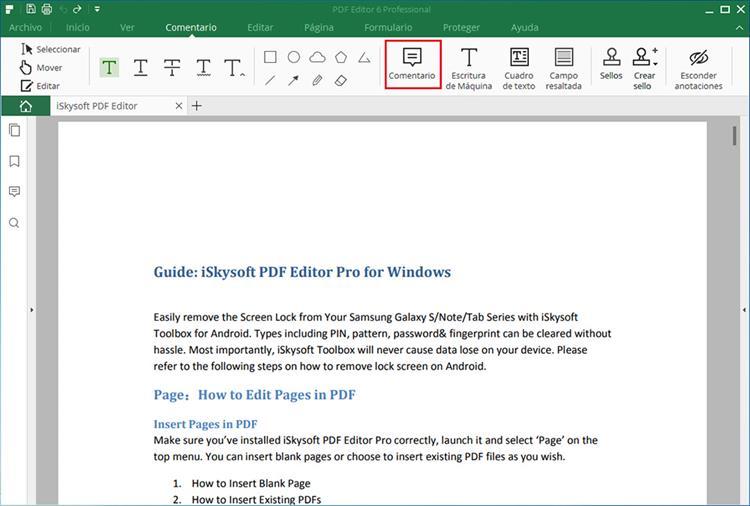 markup pdf