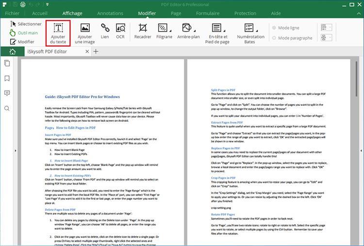 add text to pdf