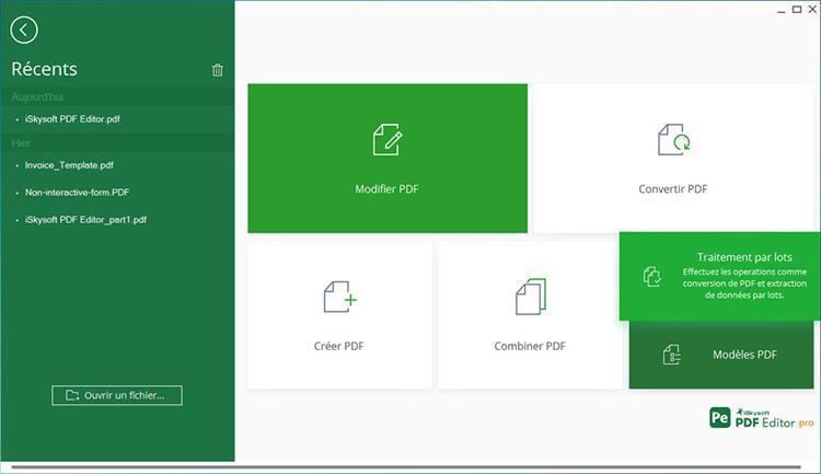 batch process in pdf