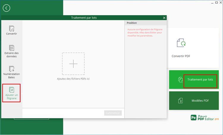 add pdf watermark in batch