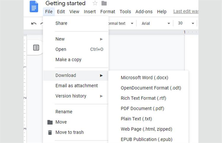 linux pdf to word solution