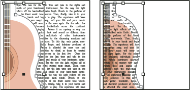 text wrap indesign