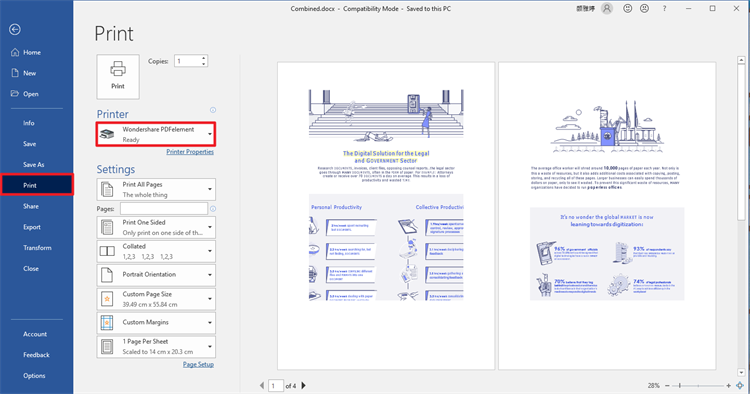 PDFelement pdf to indesign