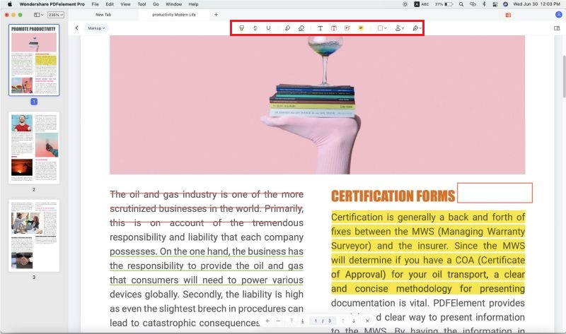 launch the pdf editor 6 professional