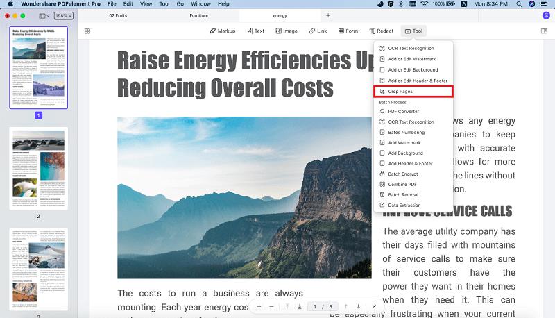 modifier les pages pdfs