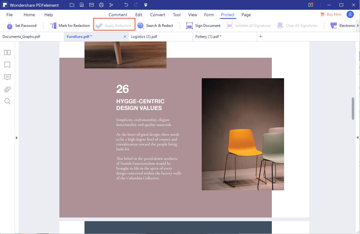 redact pdf on windows