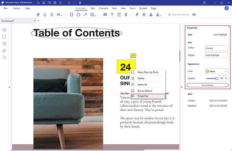comment surligner des zones dans un pdf
