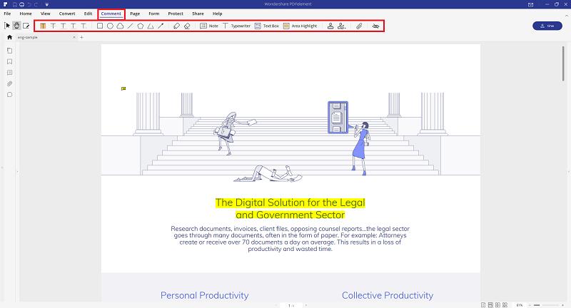 annotate pdf google drive