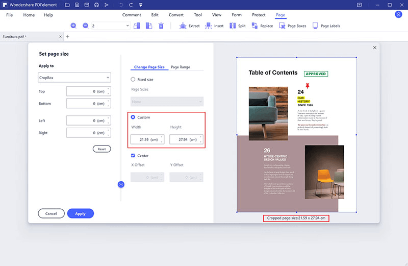 pdf page extraction