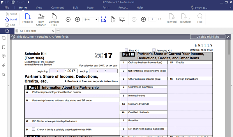 fill out interactive pdf Forms