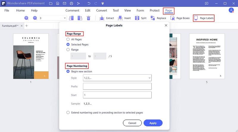 etiqueta pdf