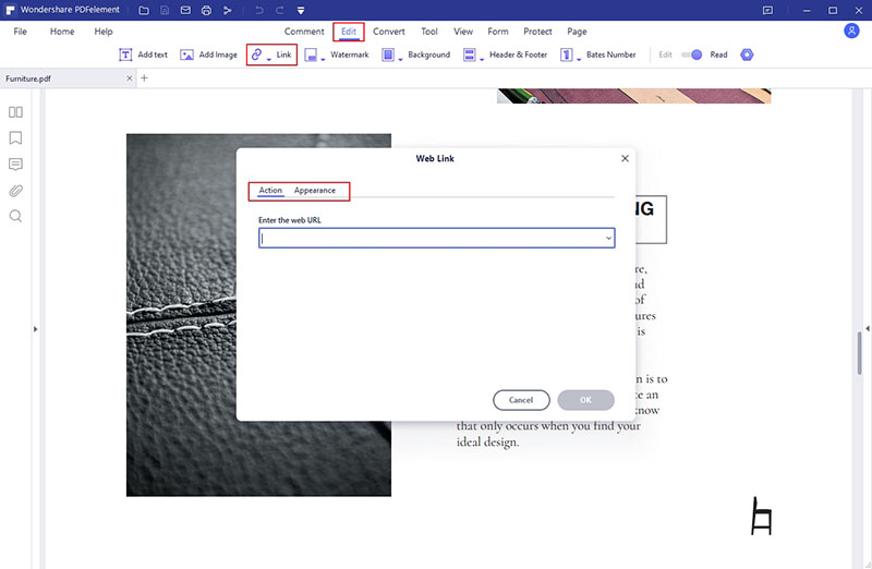 how to add a link to pdf