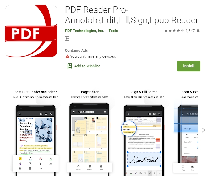 Find The Top 10 Android Pdf Annotation Apps To Annotate Pdf