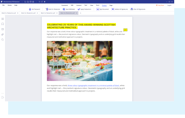 Edit & annotate pdf