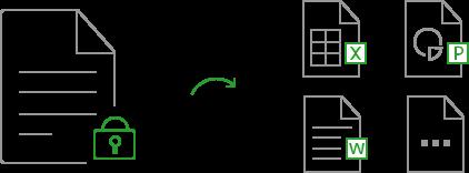 convert encrypted pdf