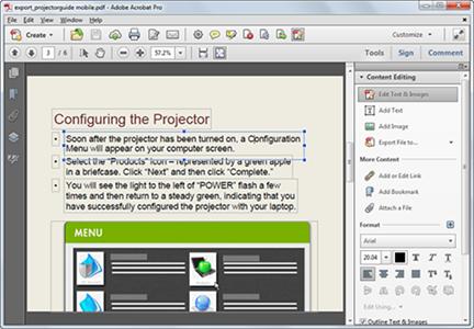 adobe pdf color editor