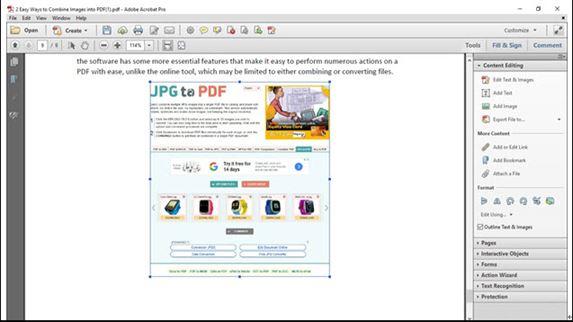 add image to a pdf