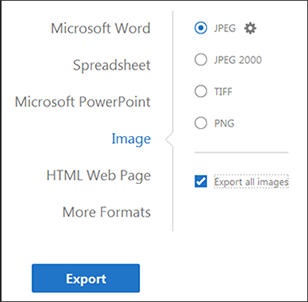adobe export pdf to jpg