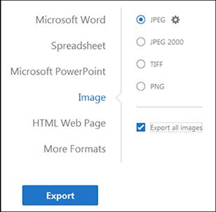 adobe export pdf to jpg