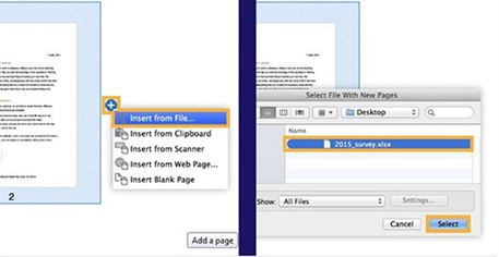 insert page to pdf with adobe
