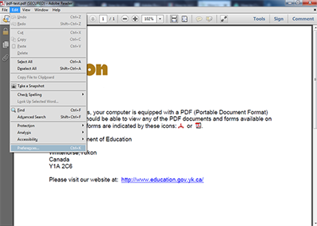 how to change font color in pdf