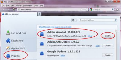 adobe reader plugin