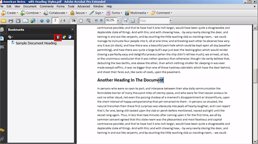 Top 3 Ways to Remove Bookmarks from PDF Document
