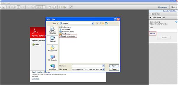convert rtf to pdf adobe