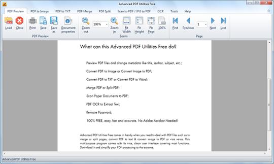 Pdf programs for windows 10