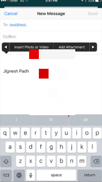 attach pdf to text message
