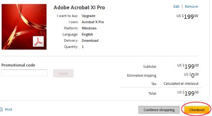 buy adobe acrobat