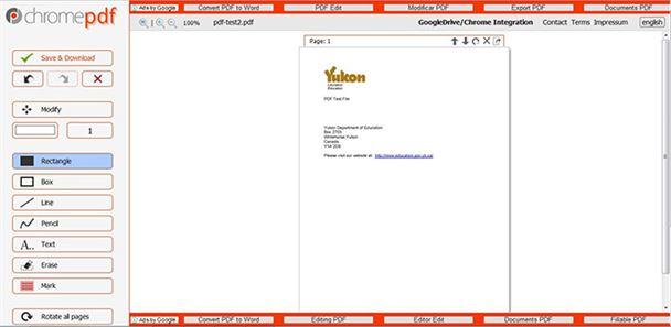 align pdf online