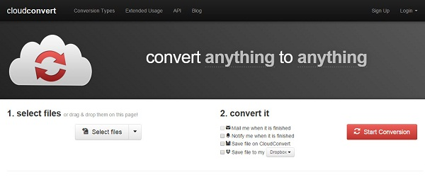 CloudConvert XLS to PDF