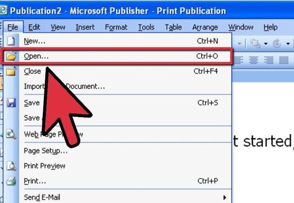 Convert Publisher to PDF in Publisher 2002 or Older