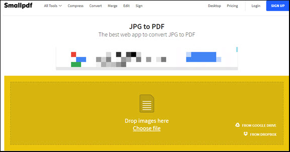 imges to pdf online