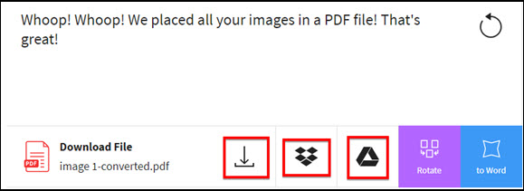 images to pdf online for free