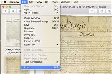create pdf from images on mac