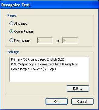 adobe acrobat edit ocr pdf