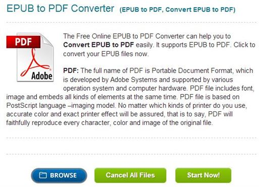 how to create epub from pdf