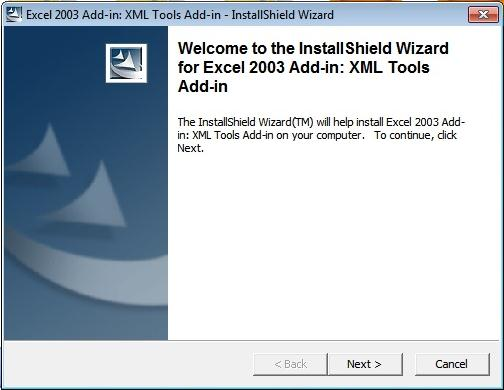 install excel 2003 add in