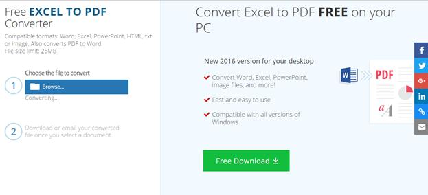 Top 20 Excel to PDF Converter Online Free without Email