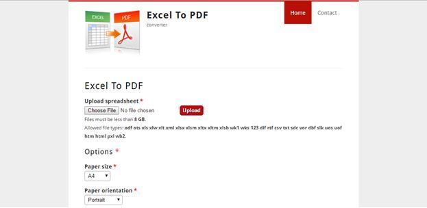 ExcelToPDF.Org
